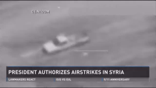 Obama prepared to order air strikes in Syria against ISIS