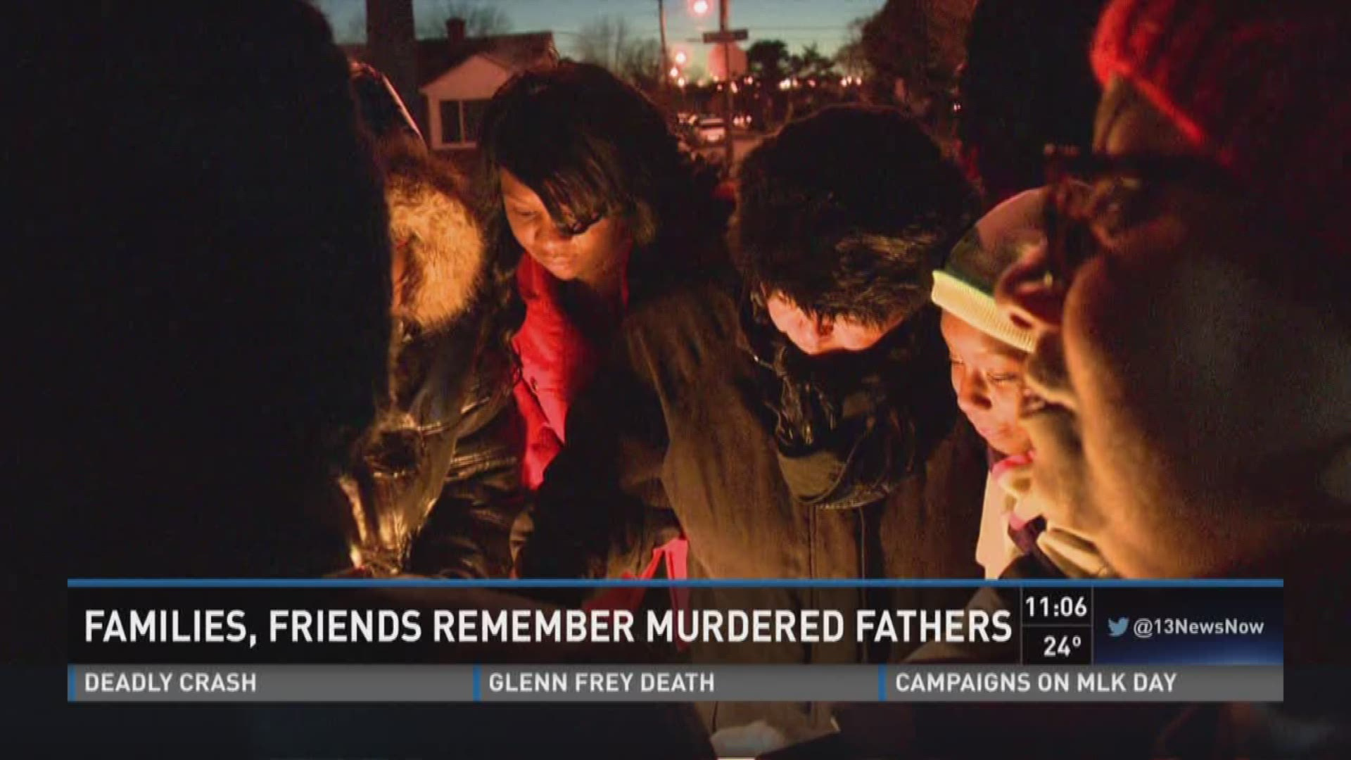 Family, friends remember murdered fathers