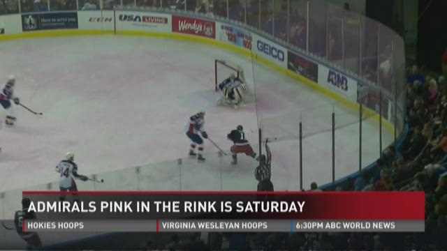 Admirals 'Pink in the Rink' Saturday