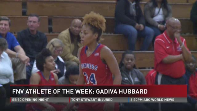 FNV Athlete Of The Week: Gadiva Hubbard