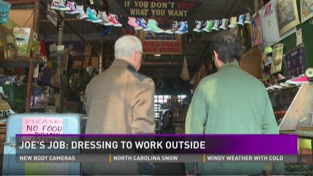 Joe's Job: Dressing to work outside