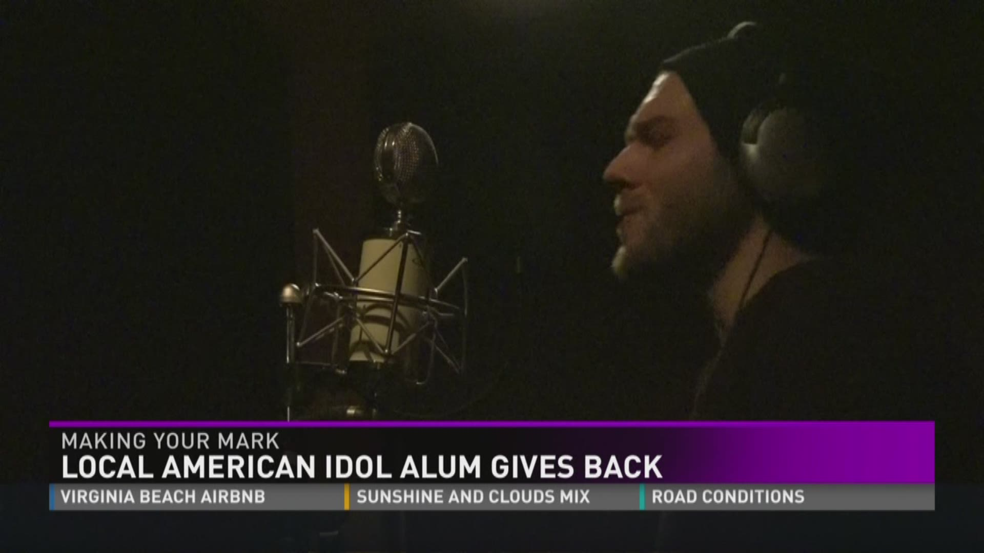 Making Your Mark: Local American Idol alum gives back