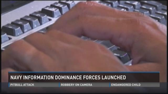 Navy information dominance forces launched