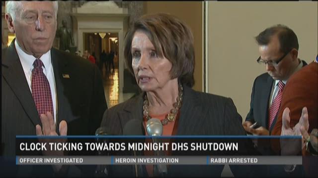 Clock ticking towards midnight DHS shutdown
