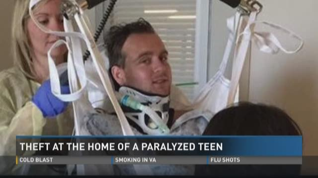Renovation Materials Stolen From Recently Paralyzed Teen S Home