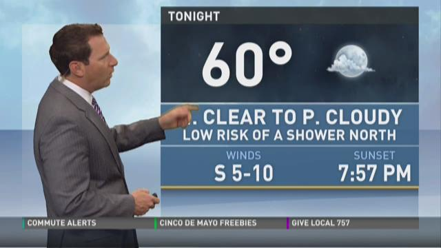 Daybreak weather: May 5, 2015