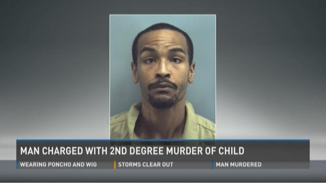 Man charged with 2nd degree murder of child