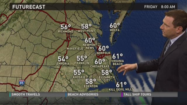 Daybreak weather: May 22, 2015