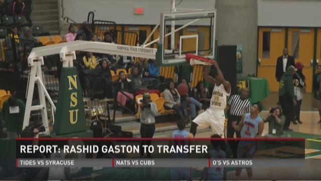 NSU's RaShid Gaston to transfer