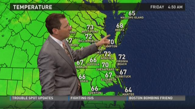 Daybreak weather: May 29, 2015