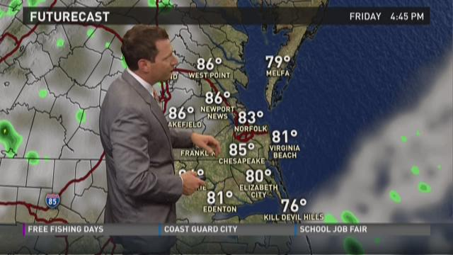 Noon weather: May 29, 2015