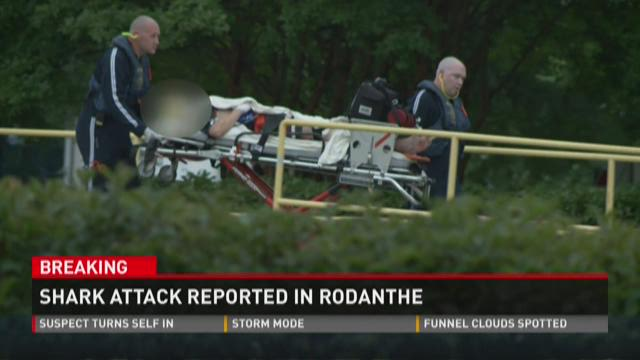 Shark attack reported in Rodanthe