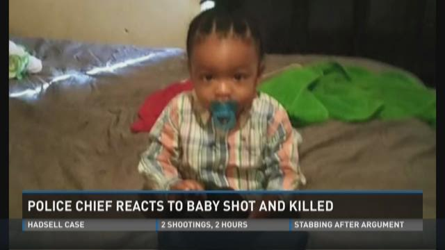 Police chief reacts to baby shot and killed
