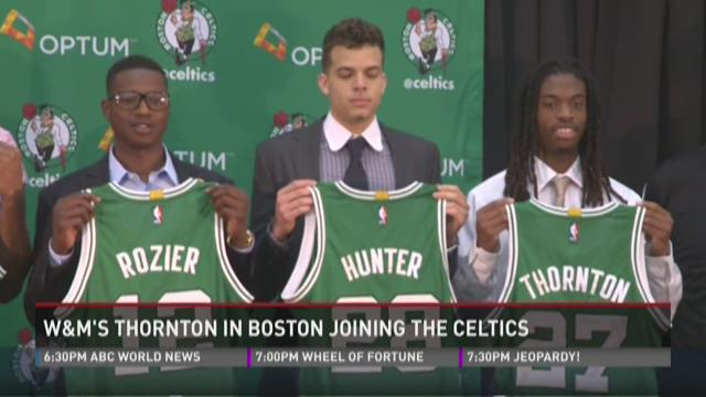 Tribe's Thornton introduced as Celtic