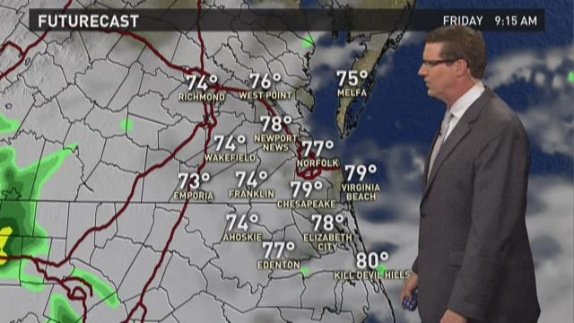 13News Now at 4 weather, July 2