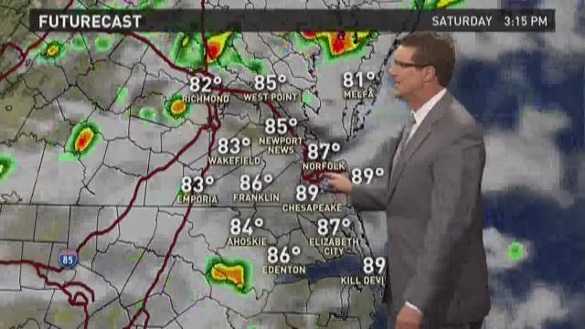 13News Now at 11 weather, July 3
