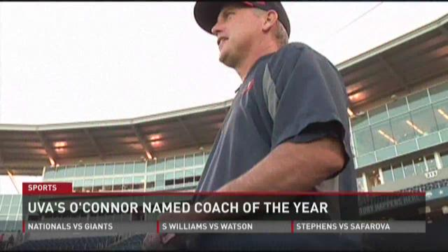 UVA's O'Connor Coach Of The Year
