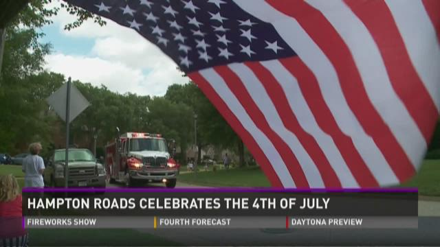 Linkhorn Cove and Brighton on the Bay Celebrate Fourth of July with Parade