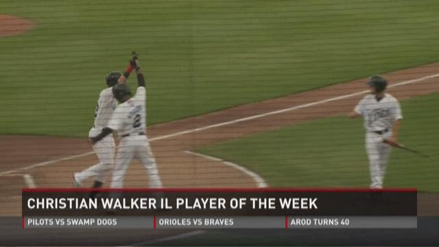 Walker named IL player of the week