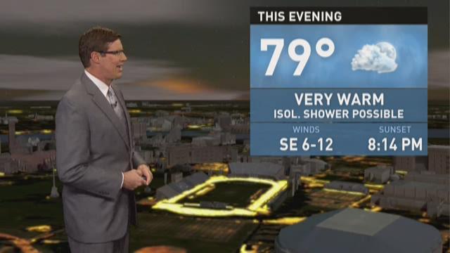 4 p.m. Weather 7/29