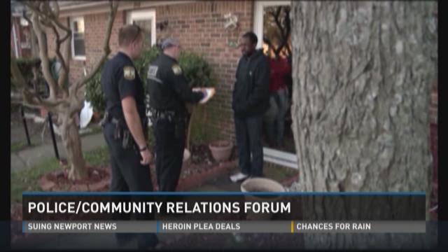 police public relations essay