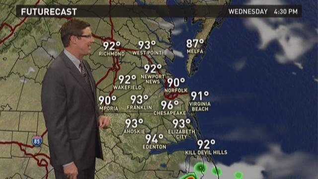 13News Now at 11 weather, August 4