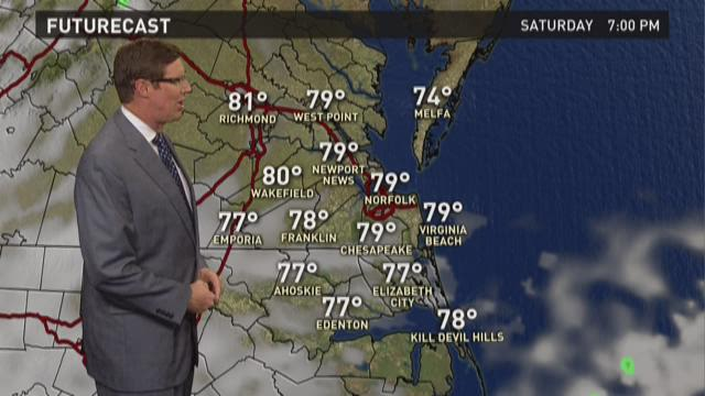 13News Now at 4 weather, August 28