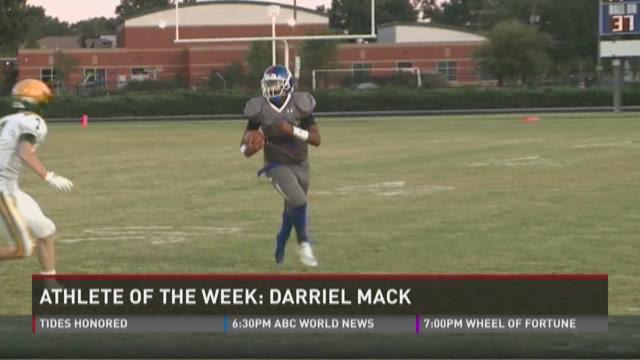 Athlete of the Week: Darriel Mack