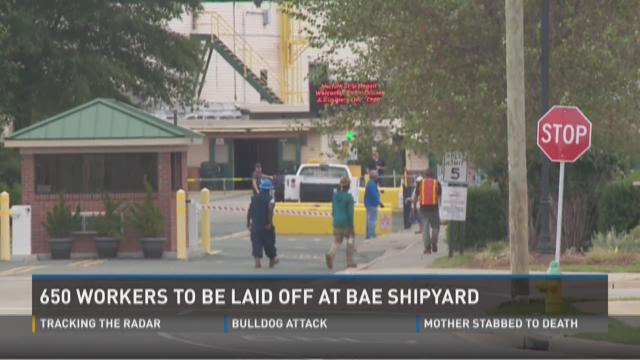 Layoffs at BAE Systems