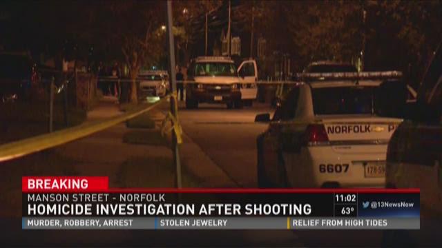 Norfolk homicide investigation