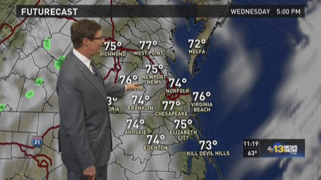 13News Now at 11 weather, Oct. 5