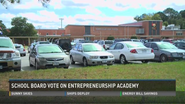 Virginia Beach school board vote on academy