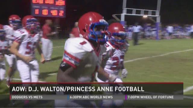 Athlete Of The Week: D.J. Walton/Princess Anne Cavaliers