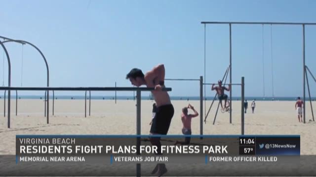 Hillier Ignite Fitness Park Virginia Beach Va