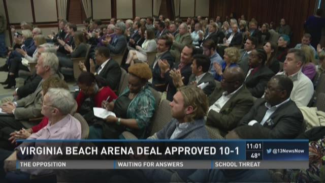 Va Beach Arena Vote